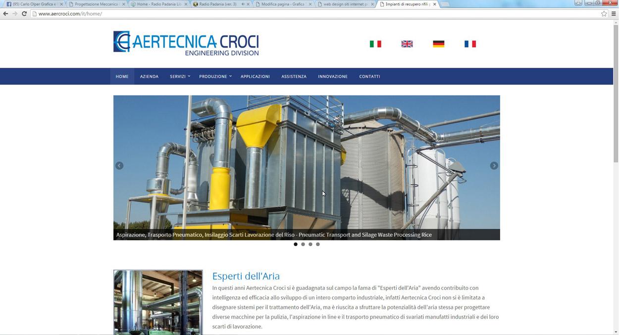 realizzazione sito internet web design